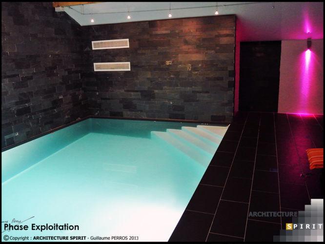 Projet piscine Intérieure – FELON