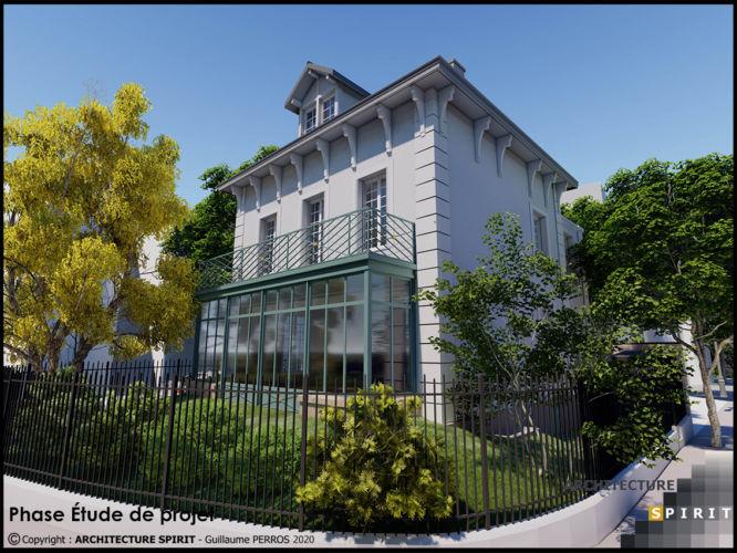 Projet Villa Montmorency – PARIS XVI