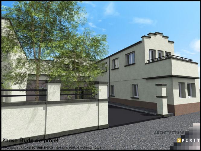 Projet Les Lofts des Quais – BELFORT