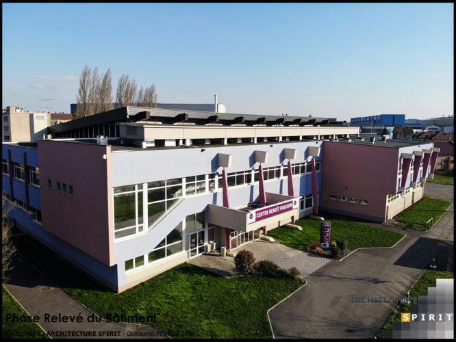 Projet Adaptation Centre Benoit Frachon – CRAVANCHE