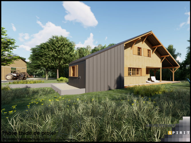 Projet Ranch – CHAMPAGNEY (70)