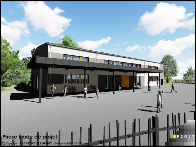 Projet École Benoit – GIROMAGNY